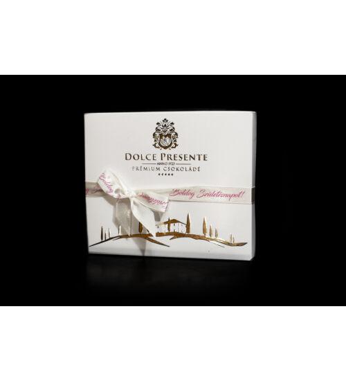 Dolce Presente Prémium olasz csokoládé - Boldog születésnap
