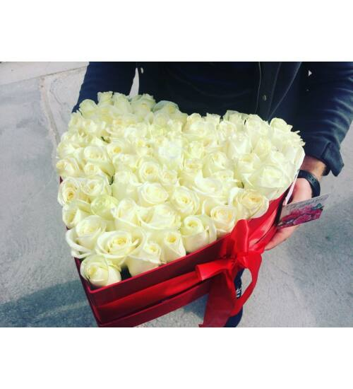 Fehér Rózsadoboz