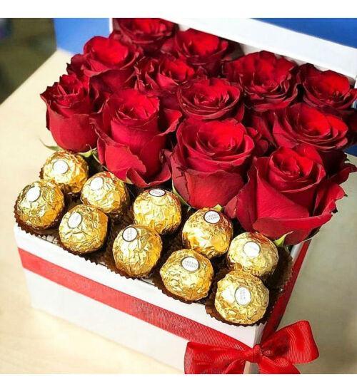 Rózsadoboz Ferrero