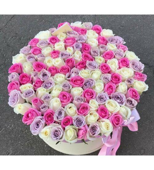Rózsadoboz Színes