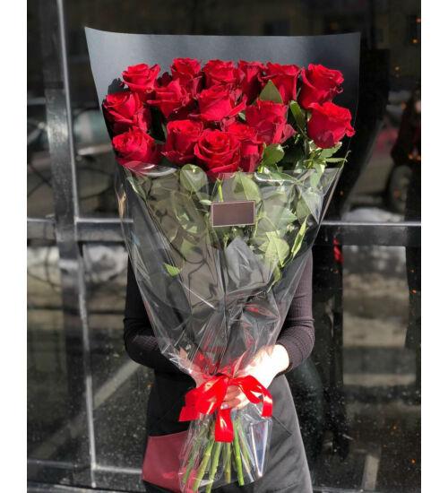 Vörös Rózsa 15 szál