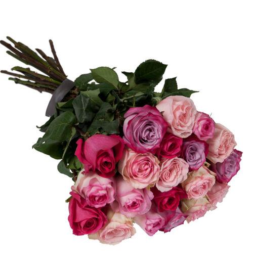 Pink Rózsa Kötegben