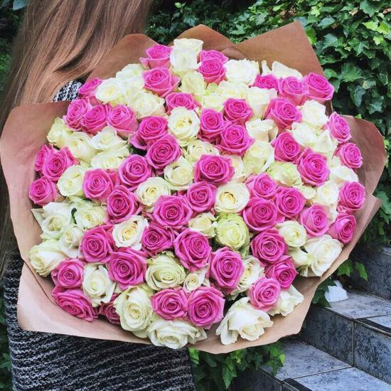 Rózsacsokor 120