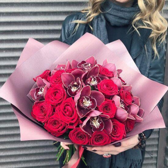 Rózsacsokor 123