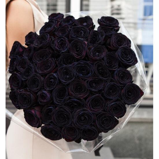 Rózsacsokor Fekete