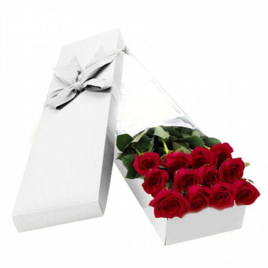 Vörös Rózsa Díszdobozban 210